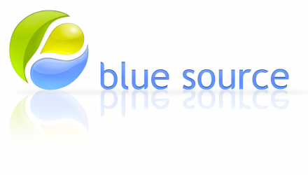 logo blue source